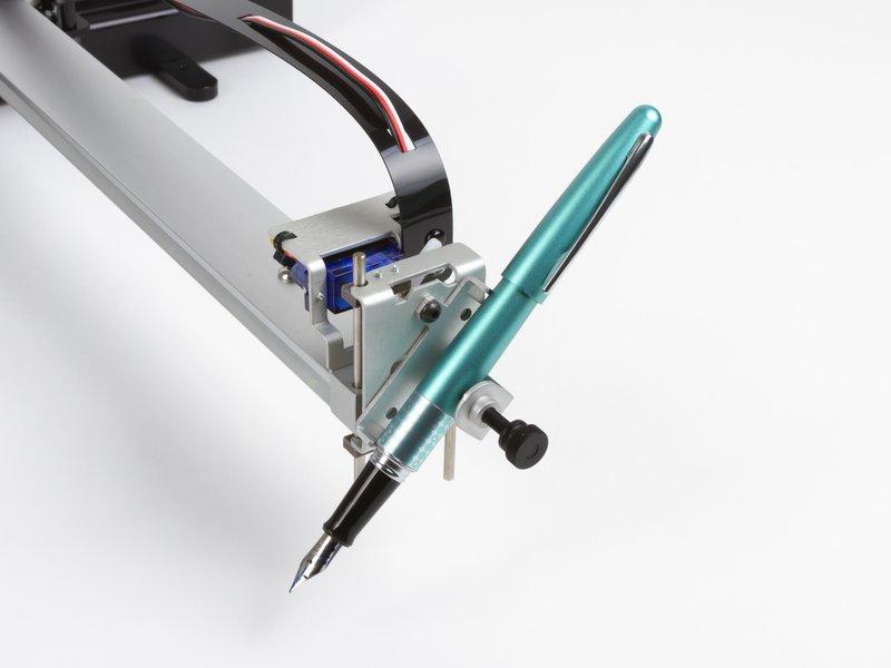 Pen holder: 45-degree configuration